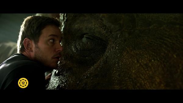 """Embedded thumbnail for Jurassic World: Bukott birodalom - """"Ez eszméletlen lesz"""""""